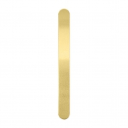 ImpressArt Armbänder Strips 15cmx16mm Brass Gold