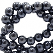 8 mm Glasperlen full colour Black pearl coating