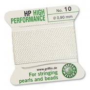 Griffin bead cord high performance Ø0.90mm White