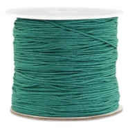 Macramé band 0.7mm Emerald green