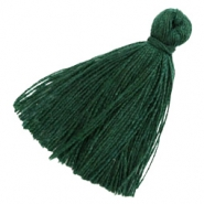 Perlen Quaste Basic 3cm Dark green