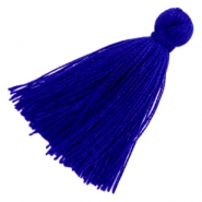 Perlen Quaste Basic 3cm Royal blue