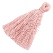 Perlen Quaste Basic 3cm Antique pink