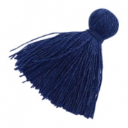Perlen Quaste Basic 2cm Midnight blue