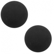 12 mm classic Cabochon Polaris Elements matt Black