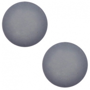 12 mm classic Cabochon Polaris Elements matt Gallant grey