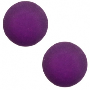 12 mm classic Cabochon Polaris Elements matt Grape purple