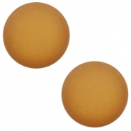 12 mm classic Cabochon Polaris Elements matt Camel brown