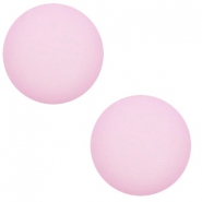 12 mm classic Cabochon Polaris Elements matt Blush pink