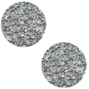 20 mm flach Cabochon Polaris Elements Goldstein Gallant grey