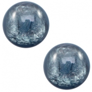 20 mm classic Cabochon Polaris Elements Lively Quantum blue