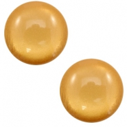 7 mm classic Cabochon Polaris Elements soft tone shiny Camel brown