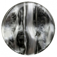 35 mm flach cabochons Polaris Elements Perseo Black silver