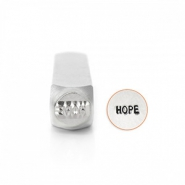 "ImpressArt Figuren Stempel ""Hope"" 6mm Silber"