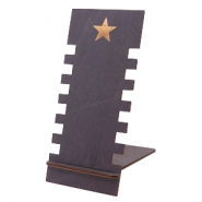 Schmuckdisplay Holz Star Black