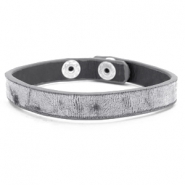 Armbänder Samt Dark grey