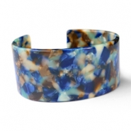 Armbänder Resin Blue mix