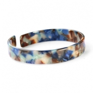 Armbänder Resin loose fit Blue mix