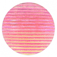 Cabochon Basic 35mm Stripe Pink holographic