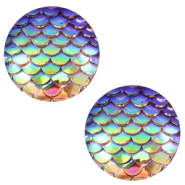 Cabochon Basic 12mm Mermaid Champagne holographic