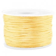 Macramé Band 1.5mm Satin Cream yellow