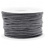 Wachskordel 1.5mm Warm grey