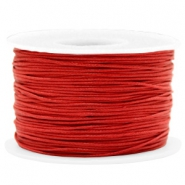 Wachskordel 1mm Warm red