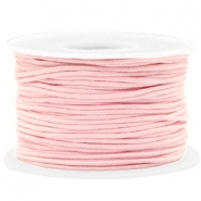 Wachskordel 1.5mm Light pink