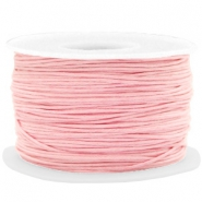 Wachskordel 1mm Powder pink