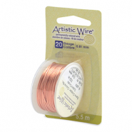 Artistic Wire 20 Gauge Bare Copper