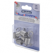 Beadalon Bead Stopper Large 6pcs Stainless steel