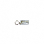 Beadalon Spring Cord End 1.8mm Silber