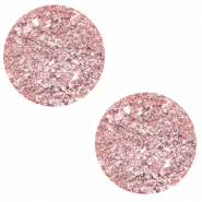 20 mm flach Cabochon Polaris Elements Goldstein Cloud coral pink