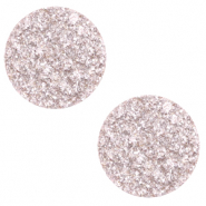 20 mm flach Cabochon Polaris Elements Goldstein Delicacy pink