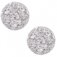 20 mm flach Cabochon Polaris Elements Goldstein Daisy white
