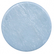 35 mm flach Cabochon Polaris Elements Lively Powder blue