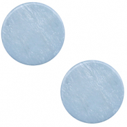 20 mm flach Cabochon Polaris Elements Lively Powder blue