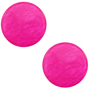 12 mm flach Cabochon Polaris Elements Lively Magenta purple