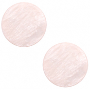 12 mm flach Cabochon Polaris Elements Lively Delicacy pink