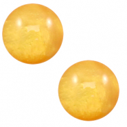 20 mm classic Cabochon Polaris Elements Mosso shiny Mineral yellow