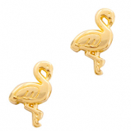 Metall Perlen DQ Flamingo Gold (Nickelfrei)