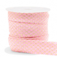 Elastisches Band Mermaid Vintage pink-gold