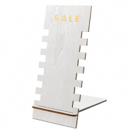 "Schmuckdisplay Holz ""SALE"" Metallic Silver"