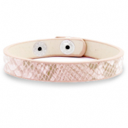 Armbänder Snake Light pink
