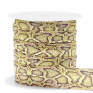 Elastisches Band Snake Olive-yellow