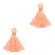Perlen Quaste 1.5cm Gold-bright peach