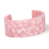 Armbänder Resin Rose pink