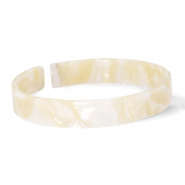 Armbänder Resin loose fit Cream beige