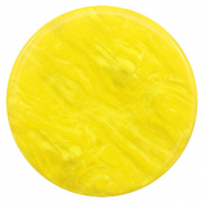 35 mm flach cabochons Polaris Elements Lively Empire yellow