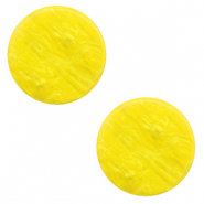 12 mm flach Cabochon Polaris Elements Lively Empire yellow